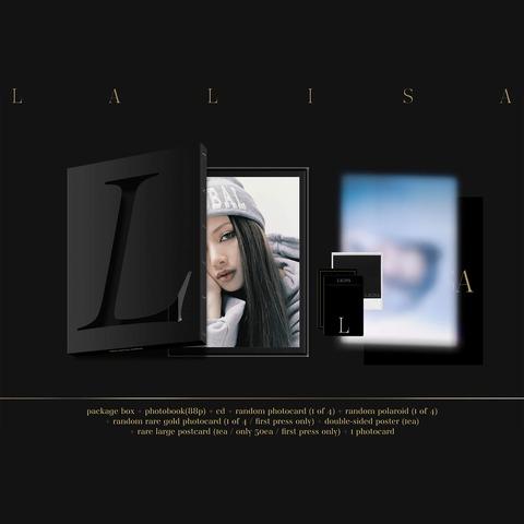 Lalisa Black Box Set by LISA - Box set - shop now at Blackpink store